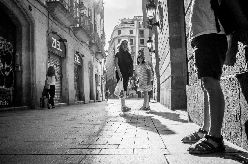Barcelona Street Photograph: School Days