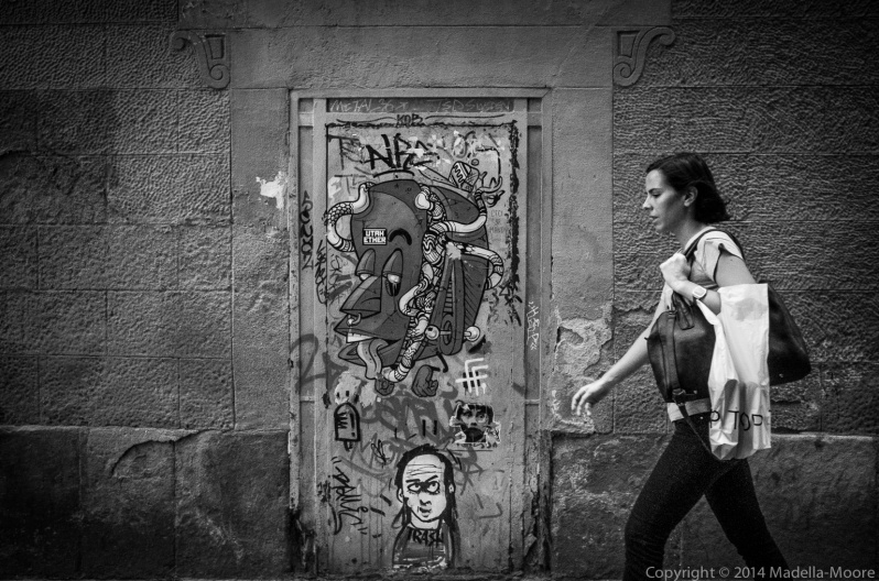 Graffiti - Barcelona Street Photography