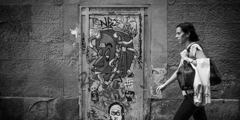Graffiti - Barcelona Street Photography