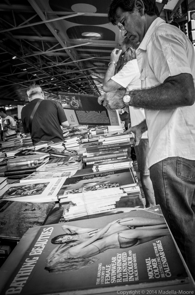 Sant Antoni Book Market, Barcelona Street Photography