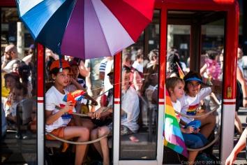 The Children's Float at Barcelona Pride 2014