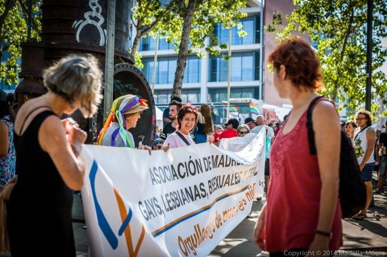 Parents Association for LGBT at Barcelona Pride 2014