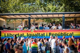Royal Politics at Barcelona Pride 2014