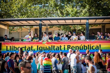 Royal Politics at Barcelona Pride 2014