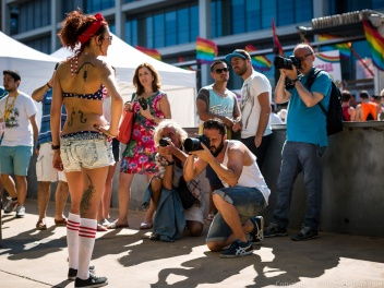 Popular Photography at Barcelona Pride March