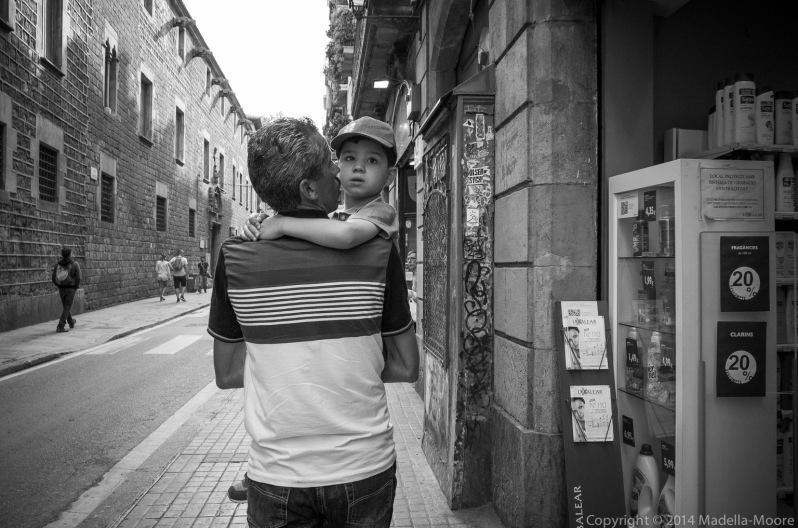 Barcelona Street Photograph: Cyclist