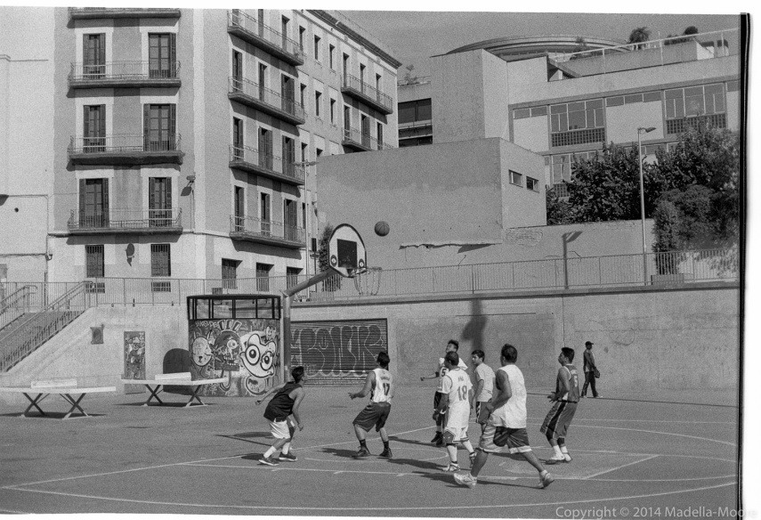 Basketball in the Raval
