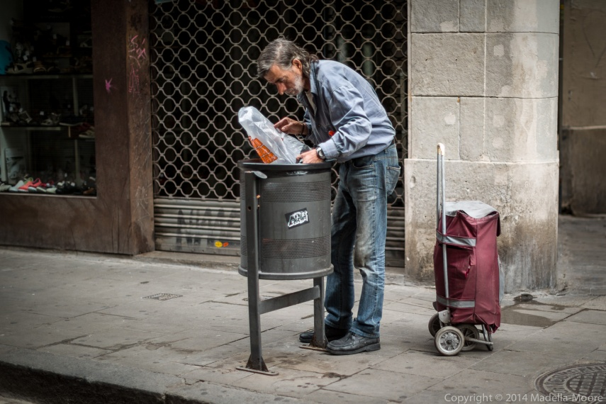 Homeless in the Raval
