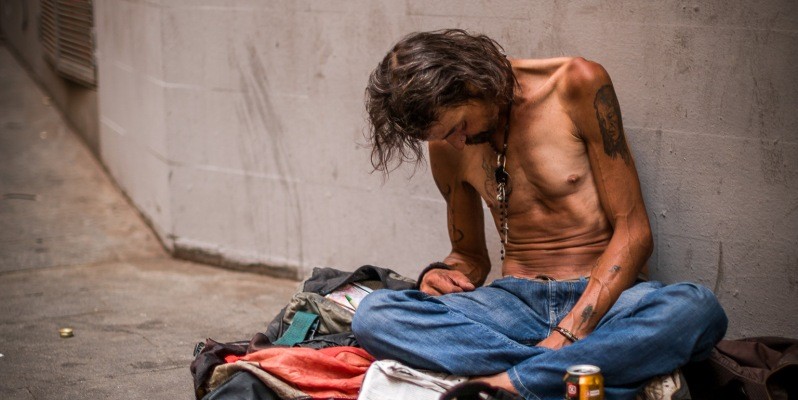 Homeless in Barcelona