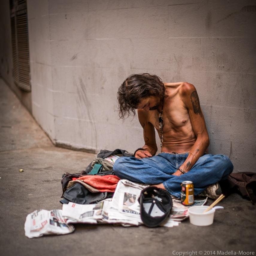 Homeless in Barcelona