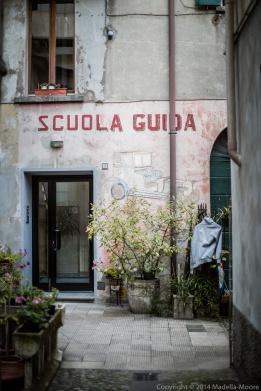 Street Scene, Bellano, Italy