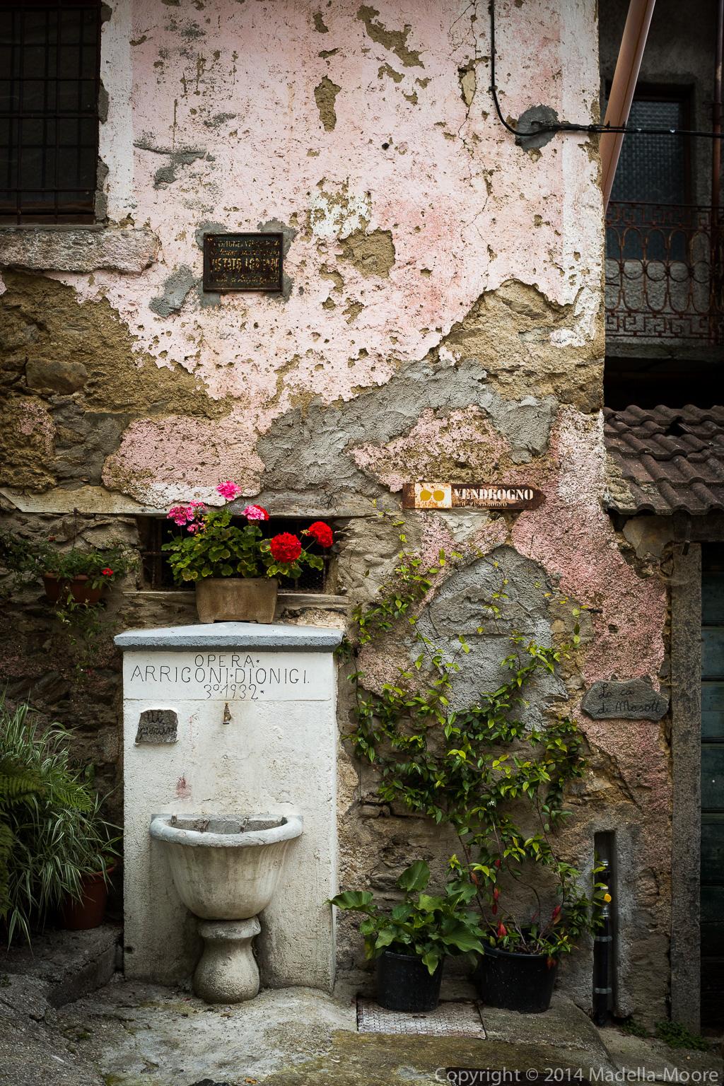 Village Fragment, Mornico, Italy