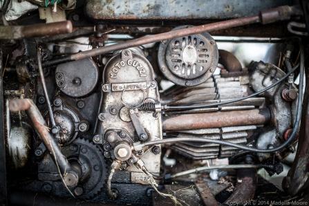 Abandoned Moto Guzzi Engine, Peglio, Italy