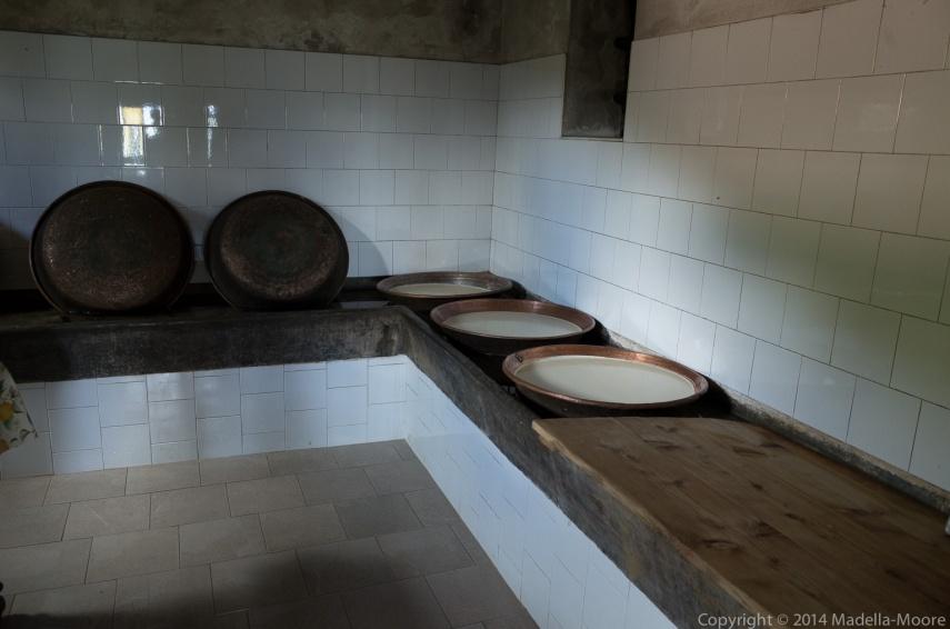 Milk pans, Pian delle Betulle, Italy