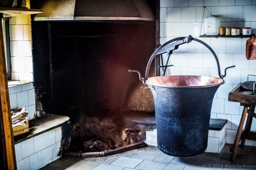 Traditional Milk Cauldron, Alpe Orighera, Valsassina, Italy