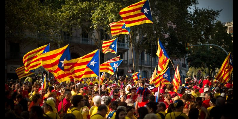 La Diada and the Via Catalana