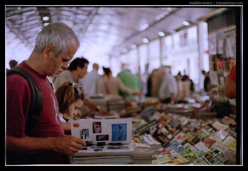 Ronda Sant Antoni Sunday Book Market, Barcelona