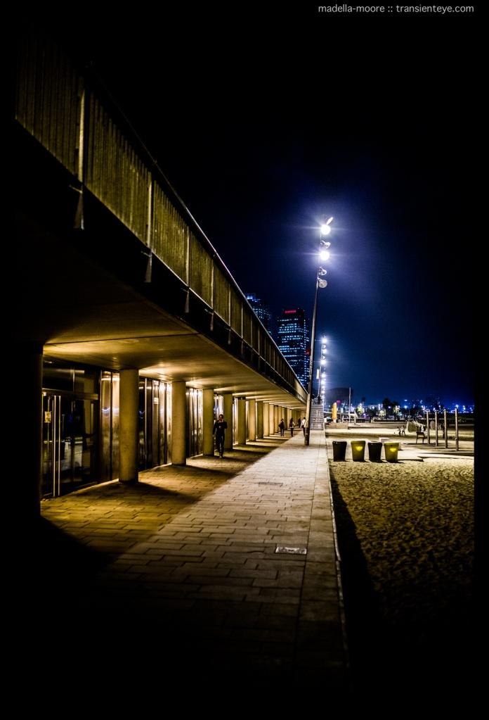 The beachfront, Barceloneta. Canon 5D Mark III with Sigma 35mm f1.4.