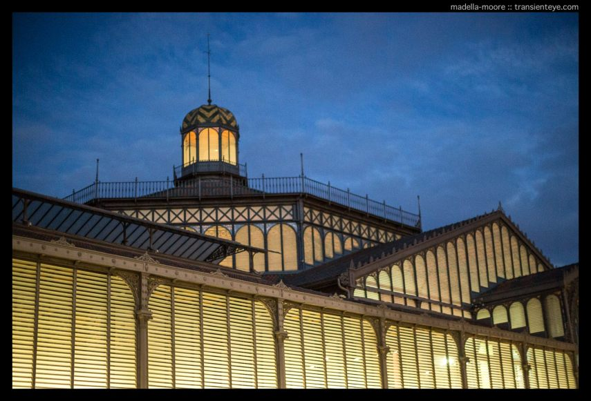 Mercat del Born at Night, Barcelona. Canon 5D Mark III, with 50mm f1.2L.