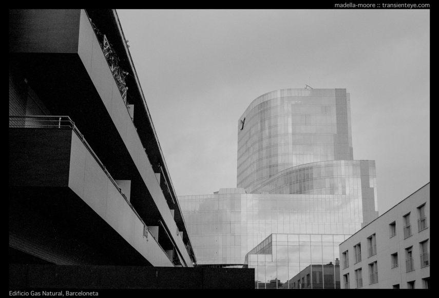 Edificio Gas Natural, Barceloneta. Lecia M7 with Zeiss ZM 2/35.