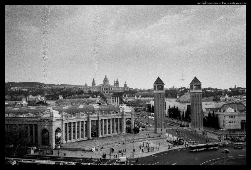 Plaça España, Barcelona.