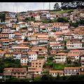 Favelas, Ouro Preto, Minas Gerais, Brazil.