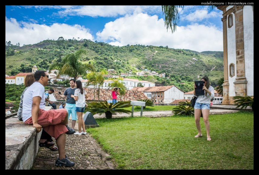 Ouro Preto, Tourists.