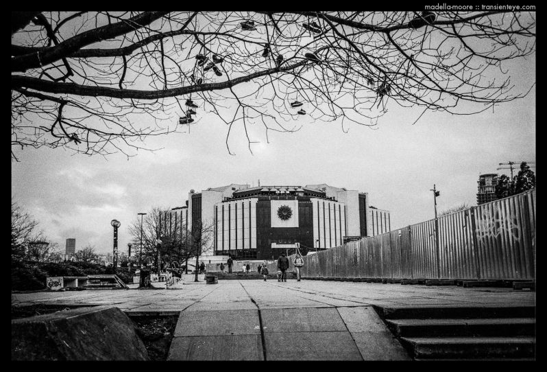 Photograph of Sofia, Bulgaria., taken with the Leica M7, Zeiss 2/35 and Ilford HP5+.
