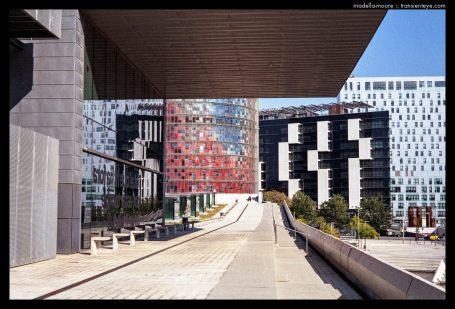 Disseny Hub and Torre Agbar, Barcelona