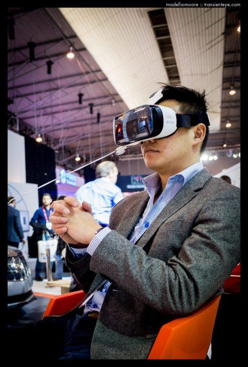 Virtual Reality Headsets, MWC, Barcelona