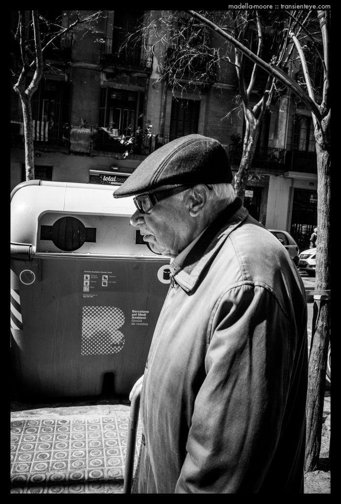 Barcelona Street Photography - Black and White - Ricoh GR