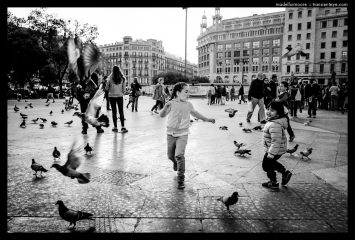 Black and White Photography of Barcelona - Ricoh GR