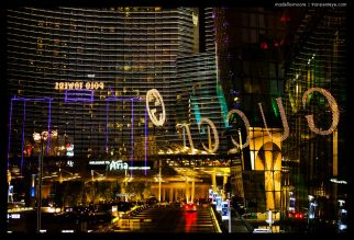 Las Vegas Lights and Reflections,