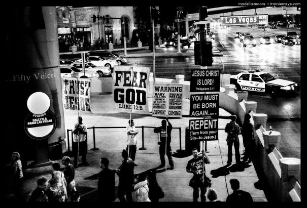Superstition and Ignorance in Las Vegas. Photograph by Mark Moore