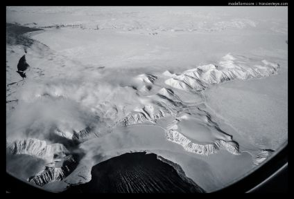 Snow Ice and Glaciers - Aerial Photography
