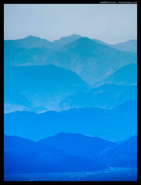 Death Valley Blue Shadows