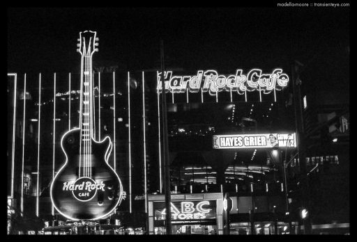 Paris, Las Vegas - Black and White Film Photography