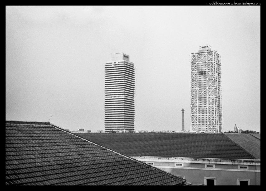Rooftops in Barcelona