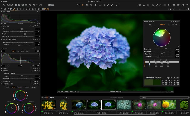 Capture One Workspace