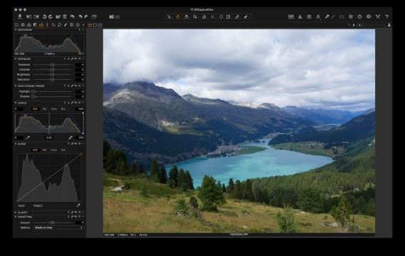 Capture One: the initial imported image.