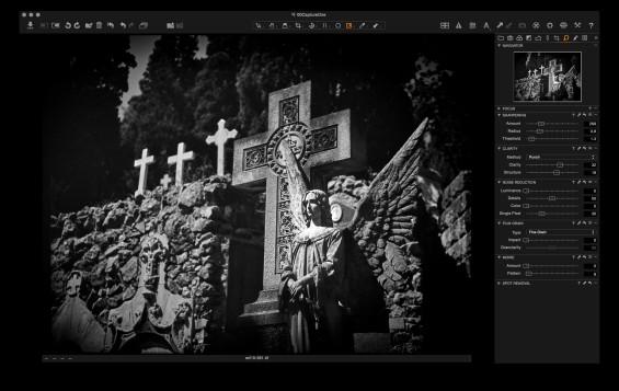 Capture One: film scan final image.