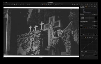 Capture One: film scan import.