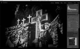 Lightroom: film scan final image.