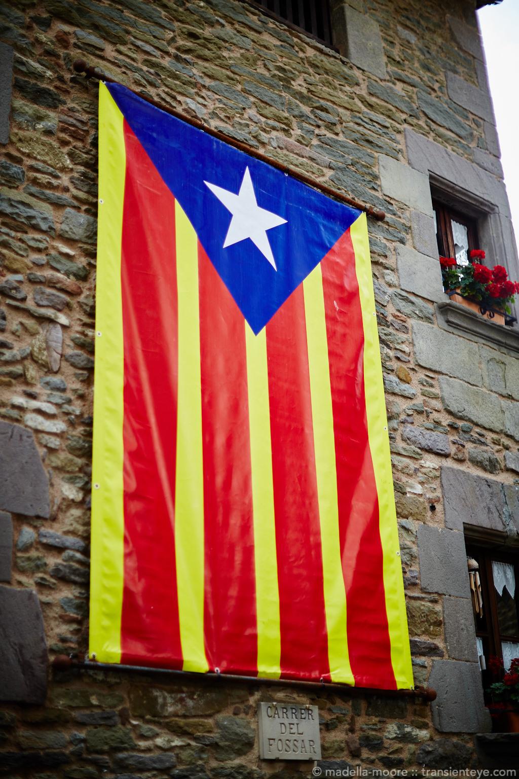 Estelada, Rupit, Catalunya