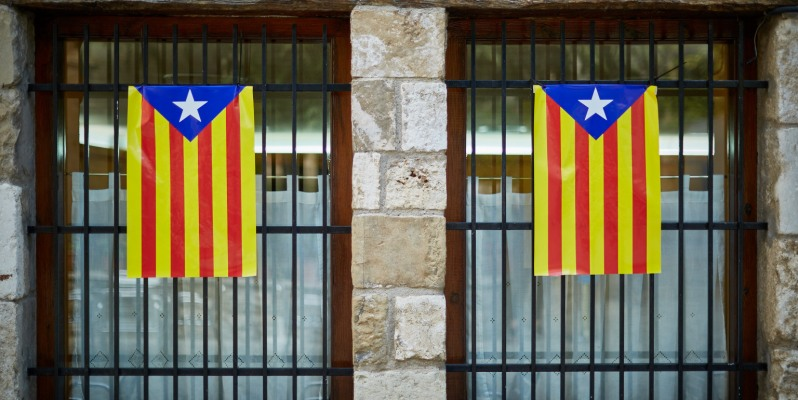 La Estelada - the Catalan Independence Flag