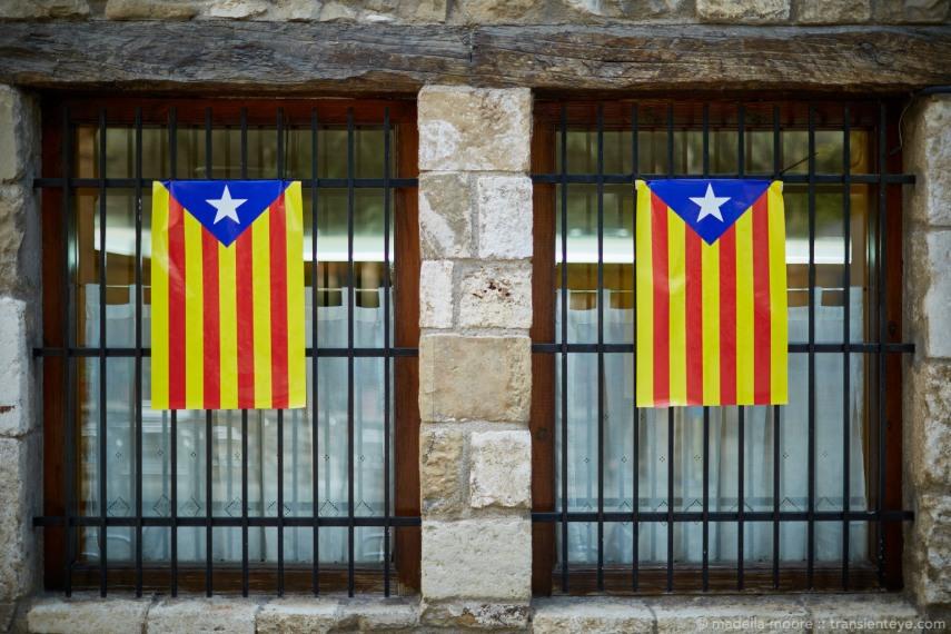 La Estelada - the Catalan Independence Flag