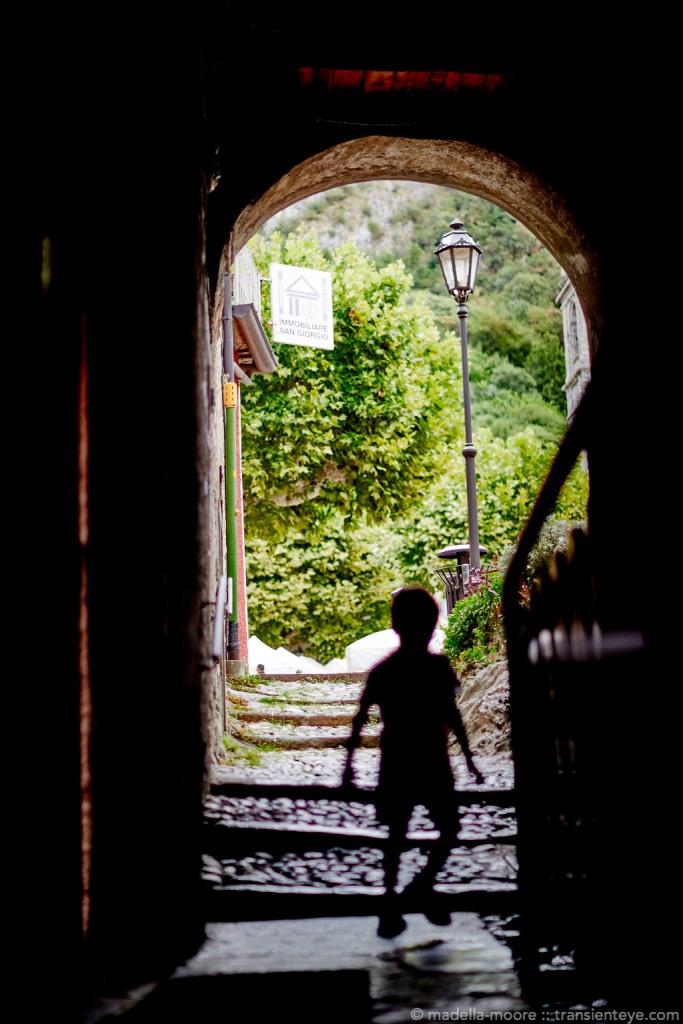 Street Photography, Varenna, Italy.