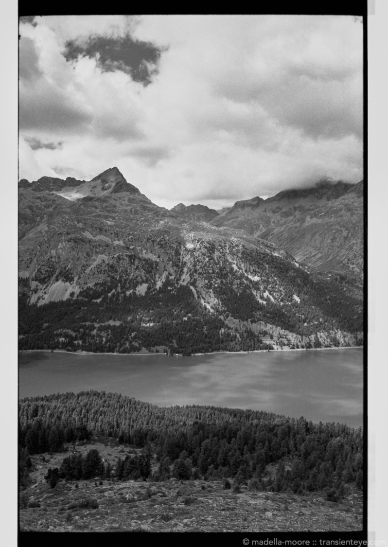 Lake Silvaplana, Switzerland. Leica M7, Zeiss ZM 2/35 and Ilford Delta 100.