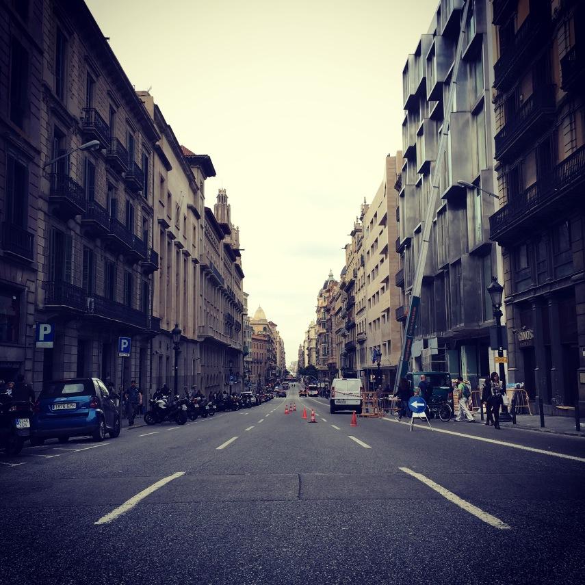 Dia (slightly) sin Coches, Barcelona.