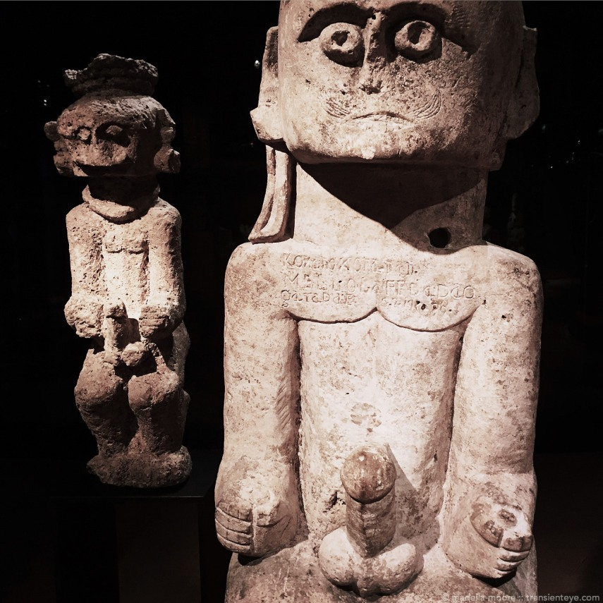 Stone art, brought to completion by Jacques Chirac at the Musée du quai Branly.